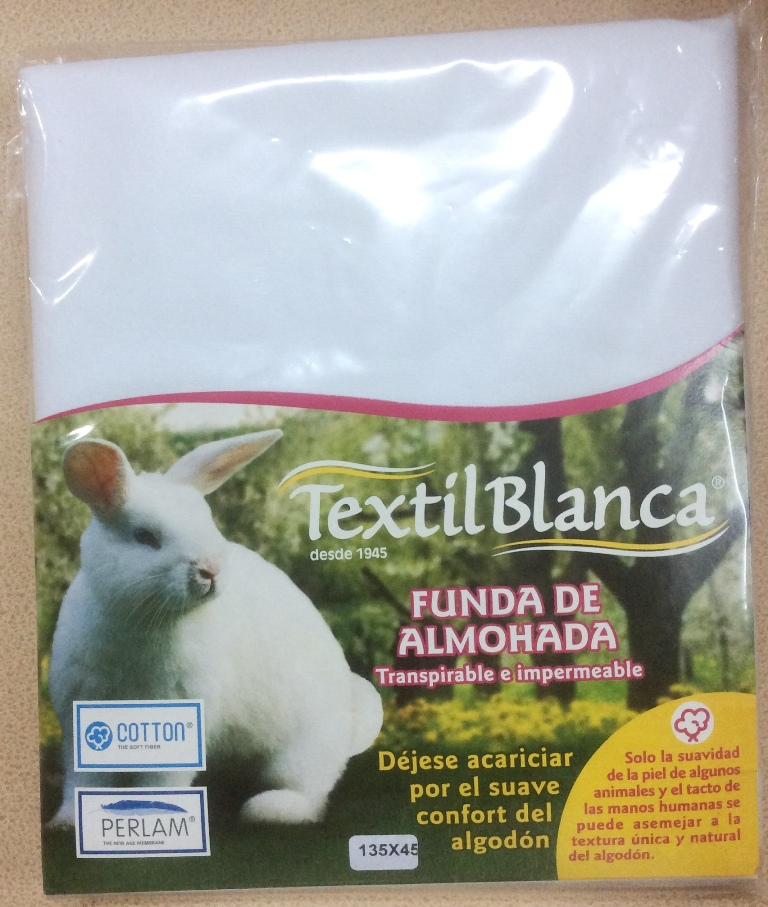 10552-3103  protector almohada impermeable y transpirable