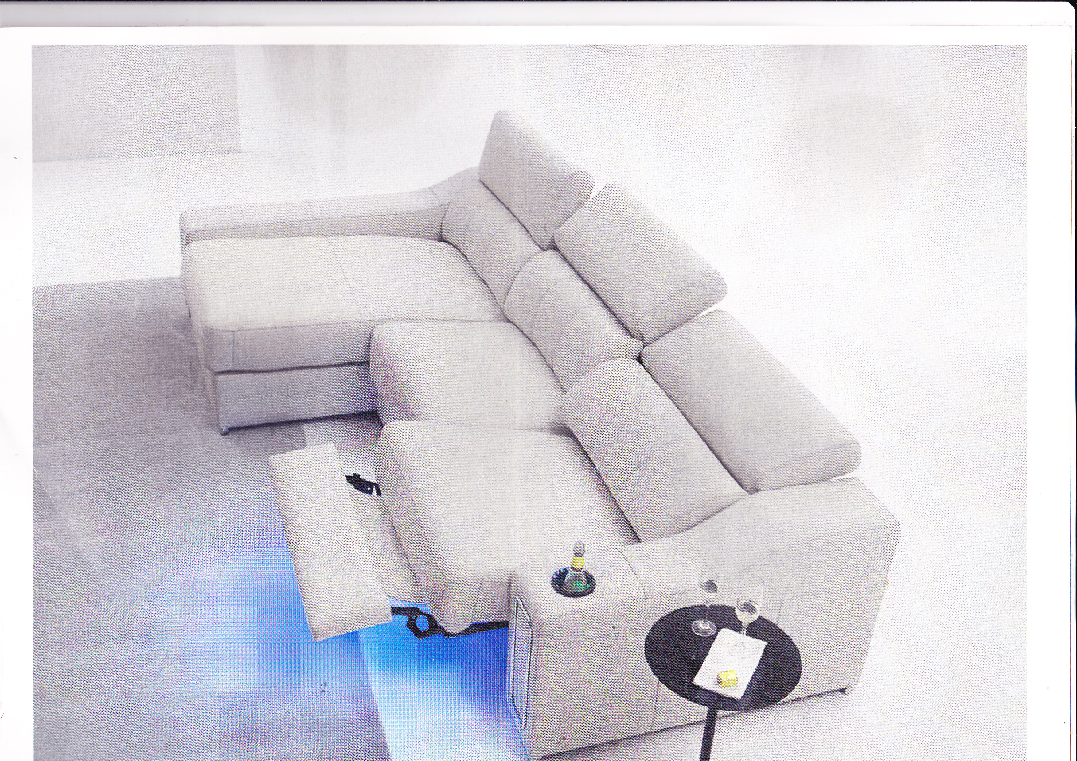 Muebles rodr guez for Medidas sofa cheslong